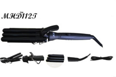 triple barrel PTC cerramic hair curling iron manufacturer