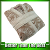 High Quality New Design Men's Cotton Terry Jacquard Bathrobe