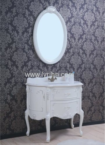 Low price Whie PVC Bathroom cabinet