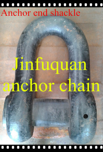 Anchor end chain shackle for marine industry