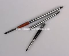 Silver Color High Quality Retractable Lip Brush