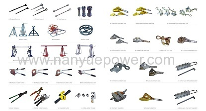 22 Ton hydraulic cable pulling winch puller equipment transmission line conductor tension wire cable stringing equipment