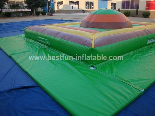 Inflatable air jumping mountain bag