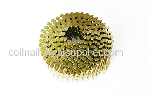 Threaded coil nail parts