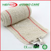 HENSO Hot Sale Elastic Red Line Cotton Crepe Bandage