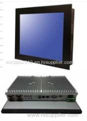 12 inch fanless industral computer panel pc N2800 processor