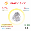 hot sale high lumen CE ROHS 3 years warranty warm white led downlights