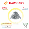 2014 new design hot sale high lumen CE ROHS 3 years warranty warm white led downlights