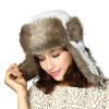 2014 Russian style fake fur trapper hat