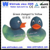 Rubber duck temperature color changing toy