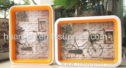 Glass/ two-sided photo frame