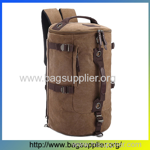 Wholesale products from China outdoor camping backpack canvas sports gym bag