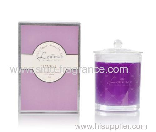 Luxury Gift Natural Soy Wax Scented Candle