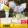 Supermarket furniture humanized design years experience clothes hanger stand metal clothes hangers