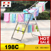 Hottest telescopic folding flexible retail household shoe hanger clothes hanger stand