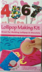 Silicone lollipop making kit