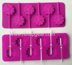 Reusable and durable lollipop maker silicone molds