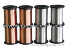 Tinned Copper Clad Steel Wire Φ0.10mm-Φ1.2mm ( TCCS wire Conductivity 21%)