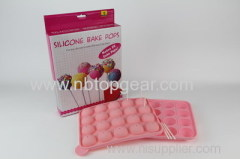 Silicone cake pop maker set
