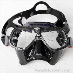 Tempered glass diving mask scuba diving mask
