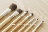 7PCS Bamboo Handle Makeup Brushes Make Up Kit