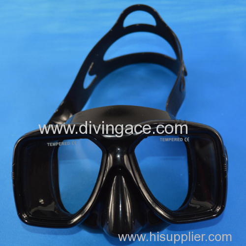 2014 scuba diving equipment silicone diving mask