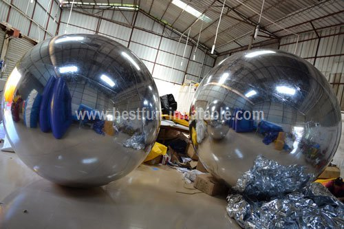 2014 New Mirrored Inflatable Ball for Display