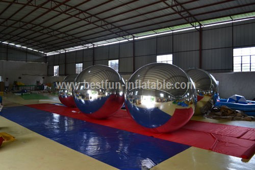 Decoration Inflatable Mirror Balloon With High Attraction PVC Balloon