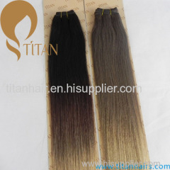 Hot selling modern aaaaa grade remy brazilian omber color cheap human hair weaving