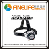7+2 red LED headlamp outdoor led headlamp