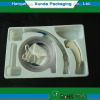 Medical instrument packaging tray
