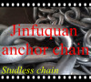 Studless Anchor Chain for Ship hot sale