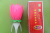 Supply of high quality lotus music candle birthday candle rotating music candle