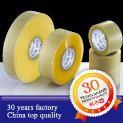 ISO9001 BOPP packing tape water base acrylic