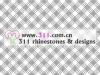 311 raw fabric rhinestone studs copper studs hot-fix heat transfer rhinestone motif design 1