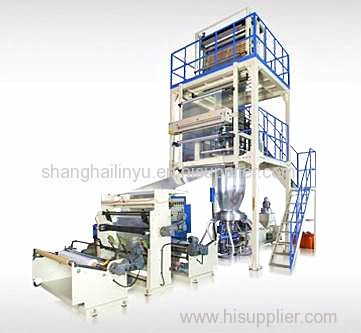 HDPE/LDPE/LLDPE High Speed Film Blowing Machine (single income)
