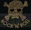 311 The skull of hot hot-fix heat transfer rhinestone motif design