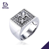 fleur de lis design 925 steling silver rings fashion jewelry gifts for men