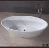 Solid Surface Stone resin bathtub