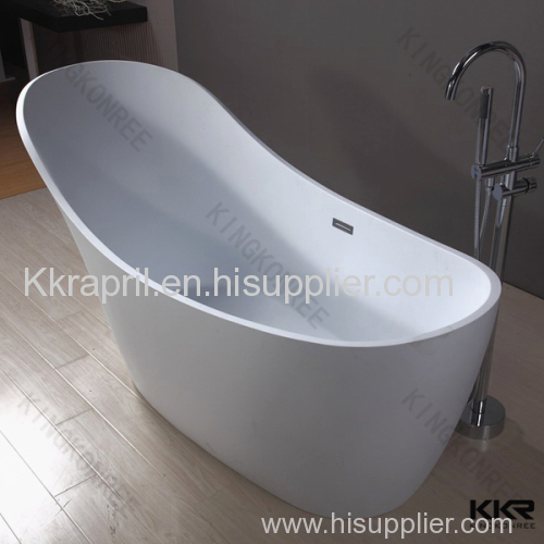 Artificial stone solid surface bathtub