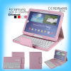 tablet bluetooth3.0 keyboard with colorful case for Samsung NOTE 10.1 P600/T520