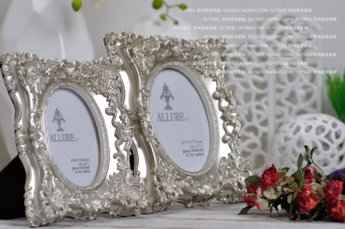 resin / oblong / creative / luxurious photo frame