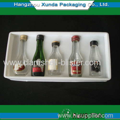 Wine packaging insert tray