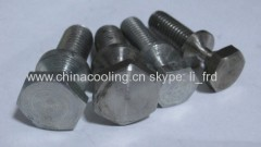 M8 and M10 bolt zinc coated and stainless steel material