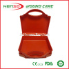 HENSO Orange Color Plastic Wall mounted First Aid Box