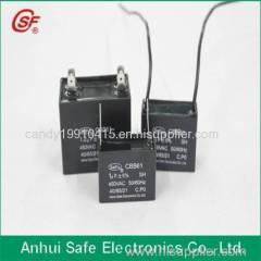 Anhui Safe metallized BOPP film ac motor capacitor