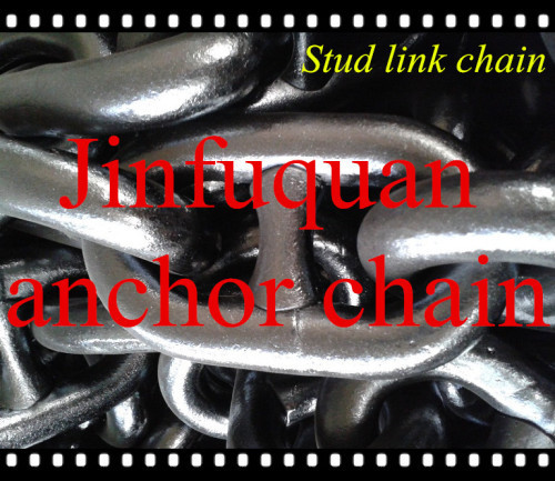welded marine steel stud link chain on sale