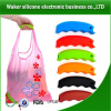 Convenient Garment Bag Silicone Holder/silicone bag holder of new products
