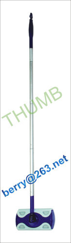 Aluminum handle flat mop