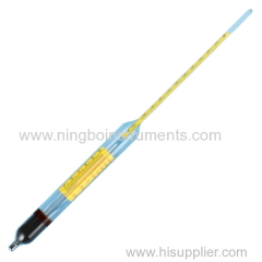 Brix hydrometer have thermometer